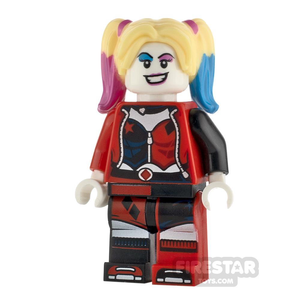 LEGO Super Heroes Minifigure Harley Quinn Open Jacket