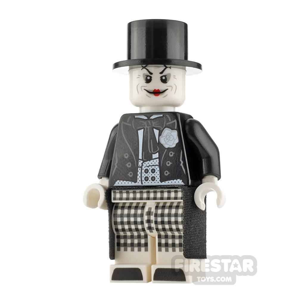 LEGO Super Heroes Minifigure The Joker Black Tailcoat