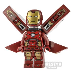 LEGO Super Heroes Minifigure Iron Man with Wings