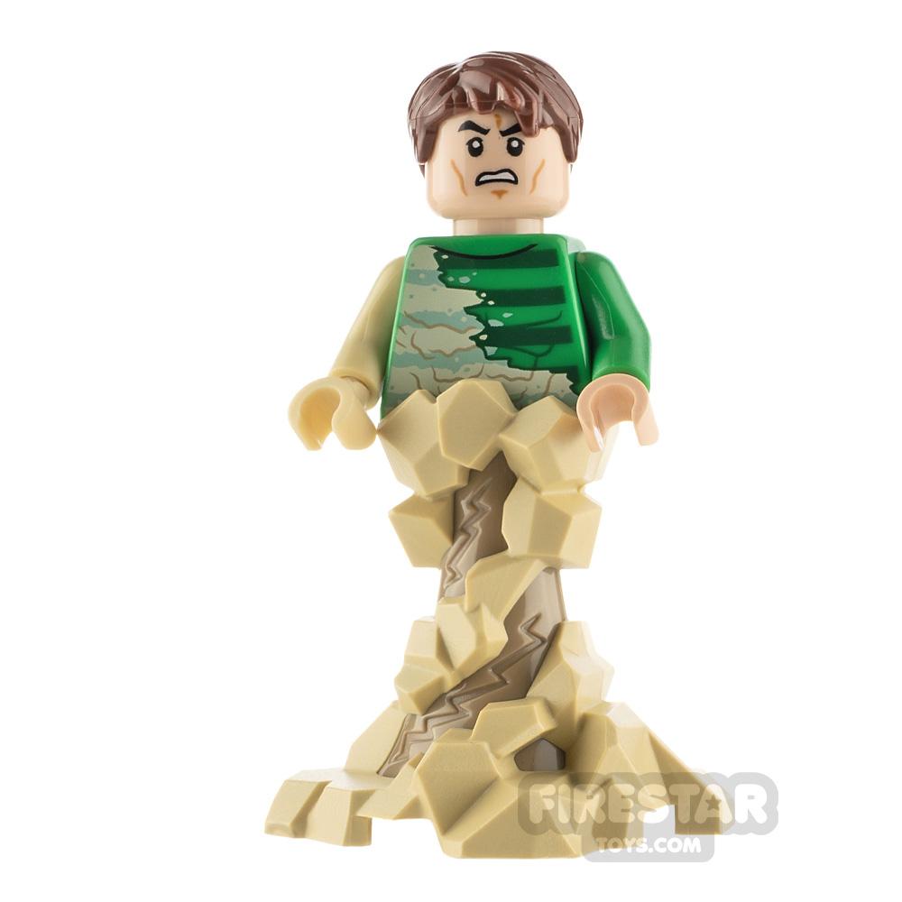 LEGO Super Heroes Minifigure Sandman Swirling Base