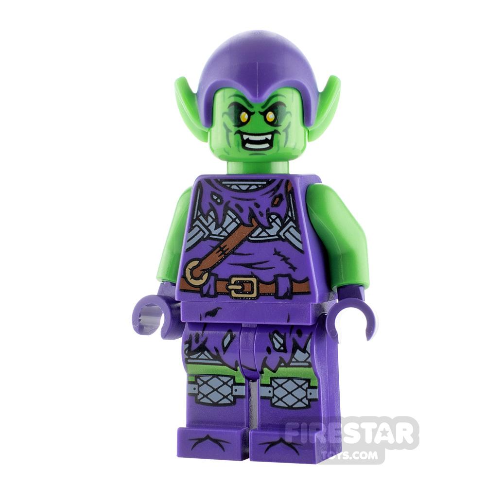 LEGO Super Heroes Minifigure Green Goblin Bright Green
