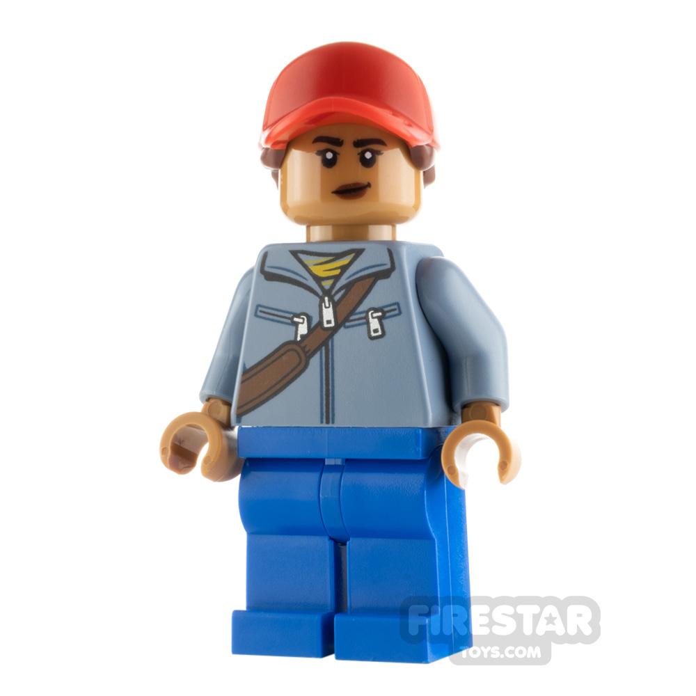 LEGO Super Heroes Minifigure Amber Grant