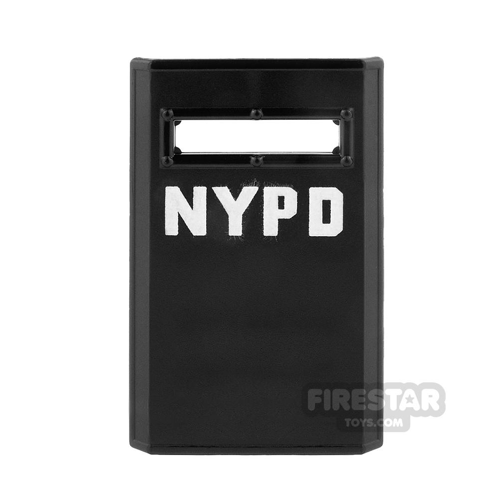 SI-DAN - NYPD Bulletproof Shield - Black