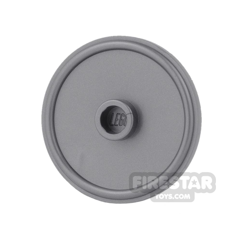 LEGO - Gladiator Shield - Flat Silver