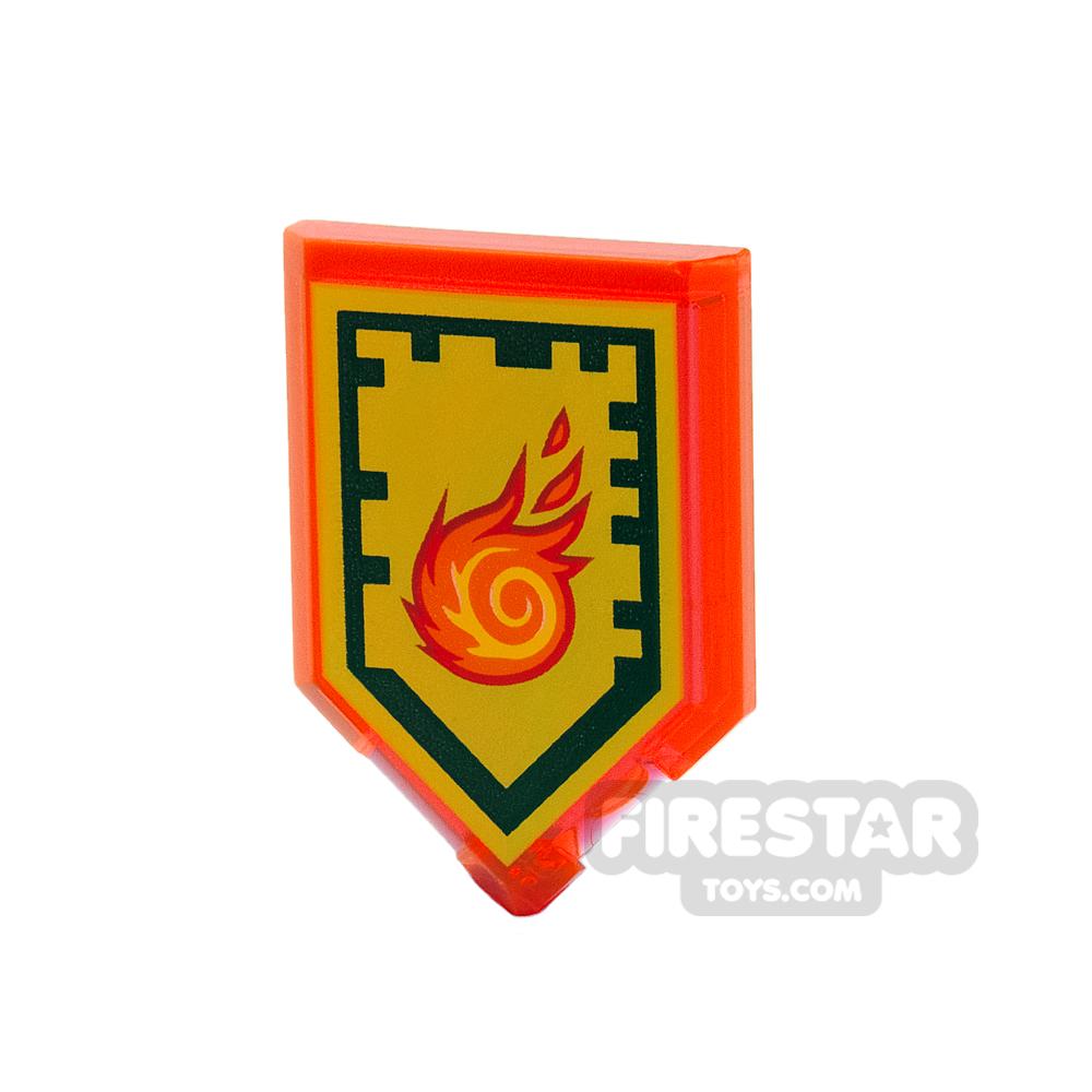 LEGO - Nexo Power Shield - Rolling Fireball