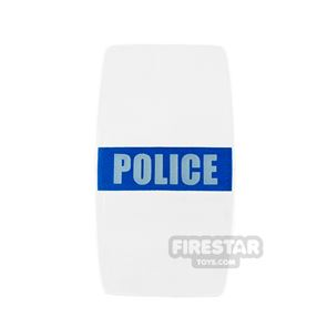 BrickForge - Military Shield - Police - Blue and White