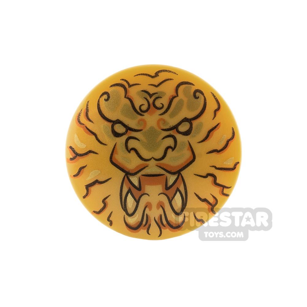 LEGO Shield Lion Head