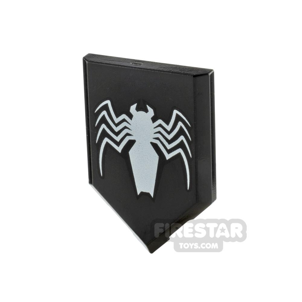LEGO Printed Pentagonal Shield Venom Logo