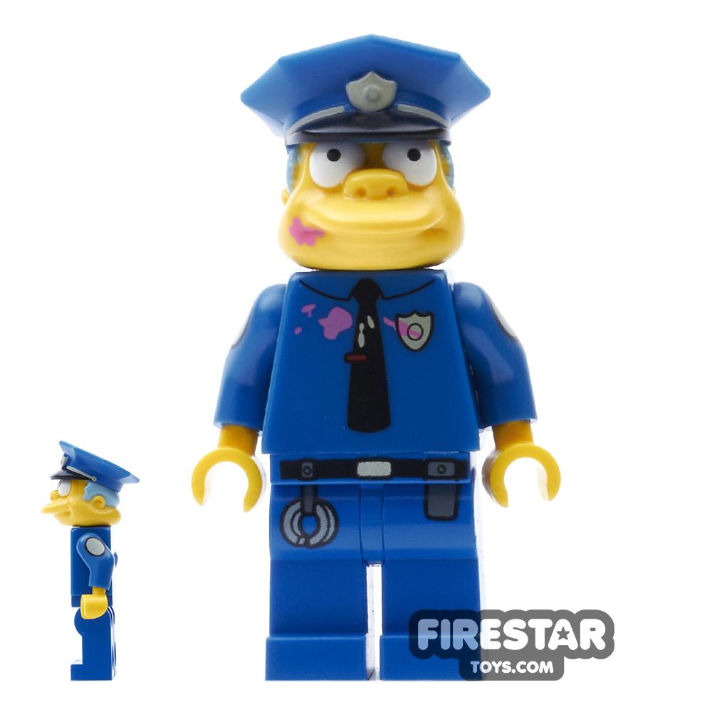 LEGO The Simpsons - Chief Wiggum - Doughnut Frosting