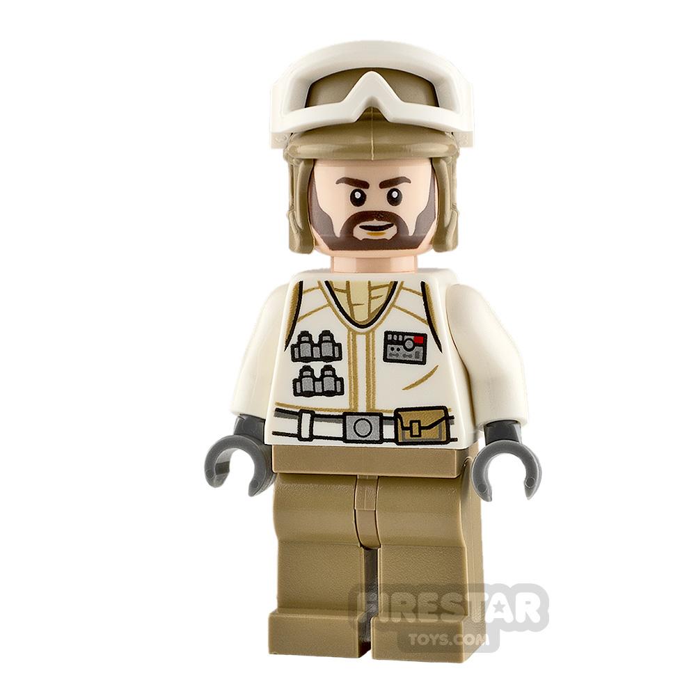LEGO Star Wars Minifigure Hoth Rebel Trooper Brown Beard