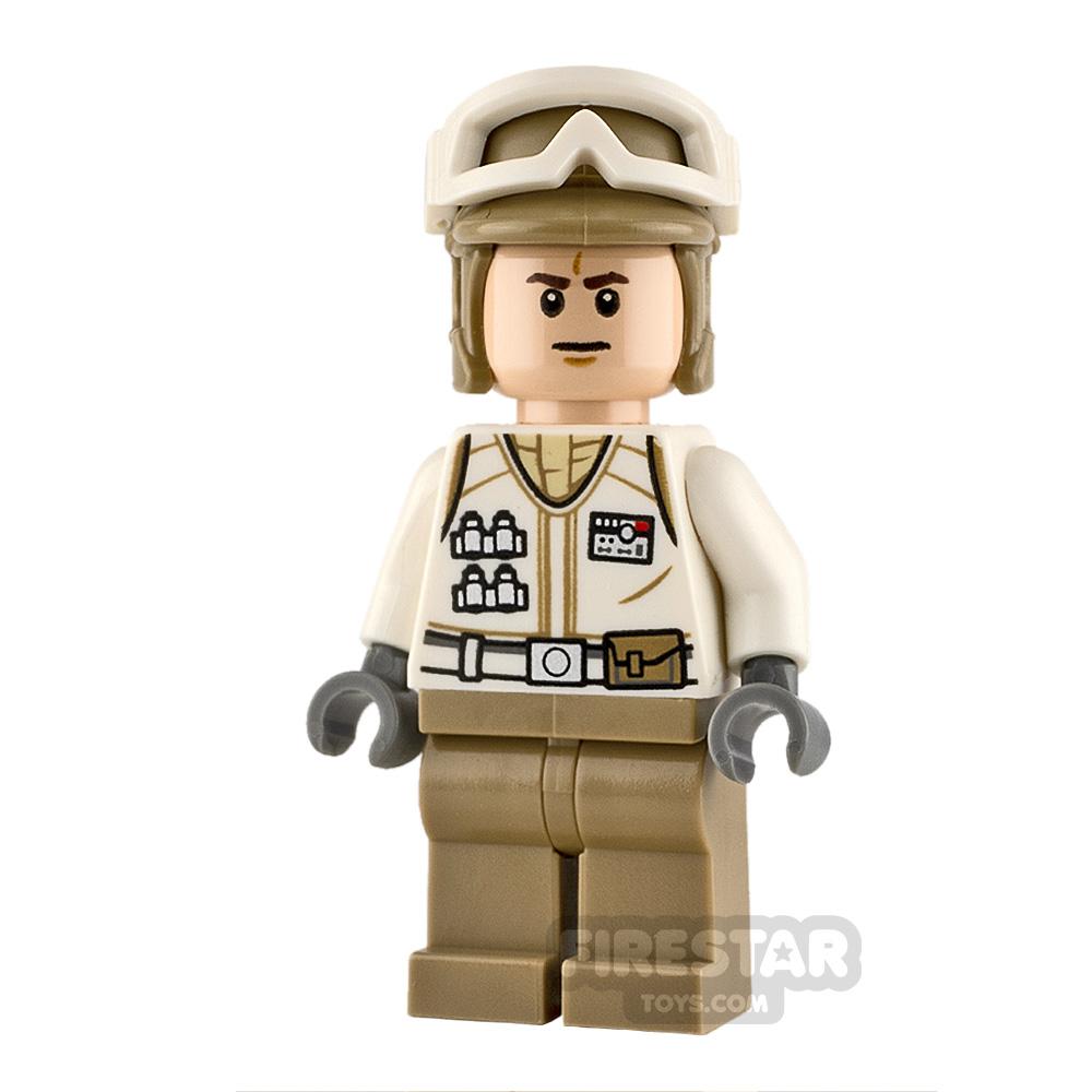 LEGO Star Wars Minifigure Hoth Rebel Trooper Frown