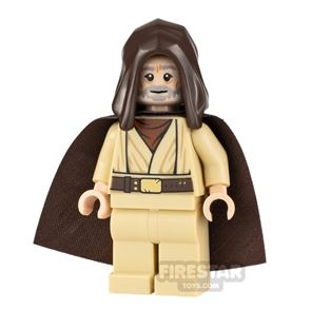 LEGO Star Wars Minifigure Obi-Wan Kenobi Open Hood