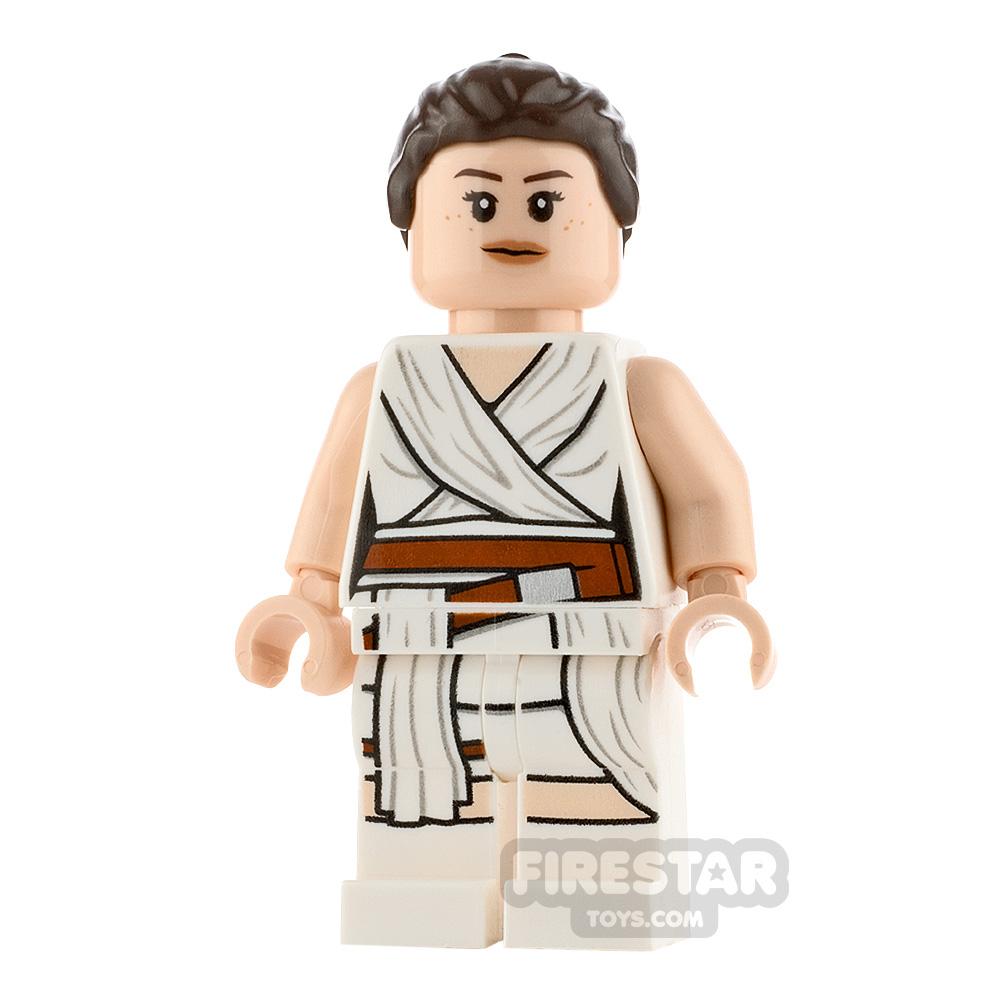 LEGO Star Wars Minifigure Rey White Robes
