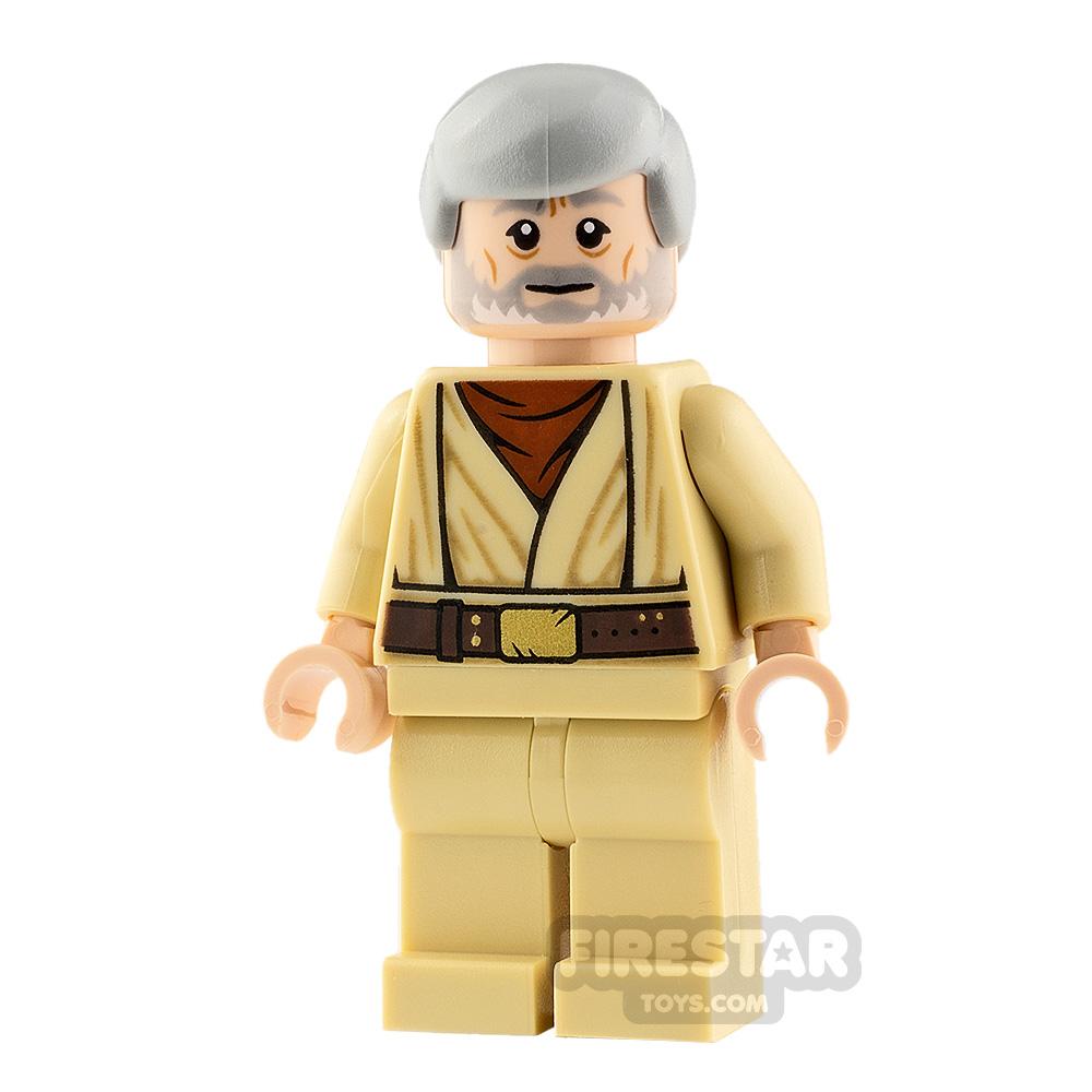 LEGO Star Wars Minifigure Obi-Wan Kenobi Old