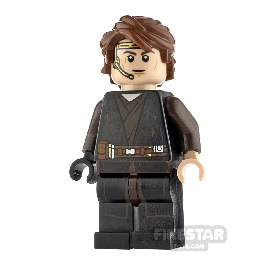 LEGO Star Wars Minifigure Anakin Skywalker Dirt Stains