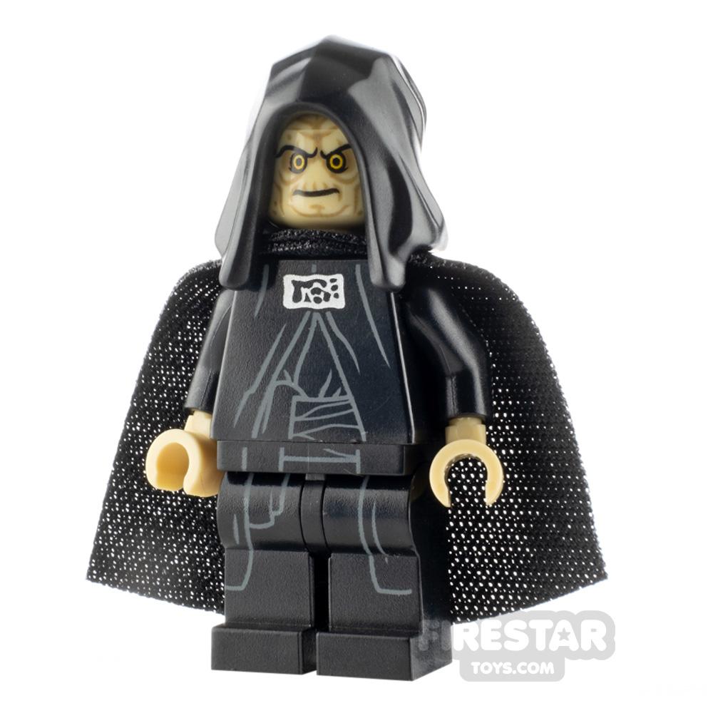 LEGO Star Wars Minifigure Emperor Palpatine Open Hood