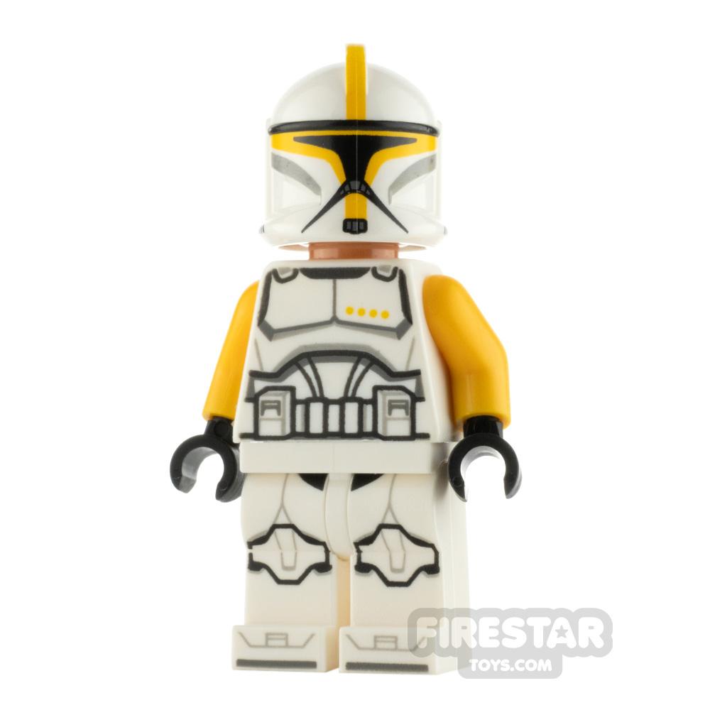 LEGO Star Wars Minifigure Clone Trooper Commander Orange