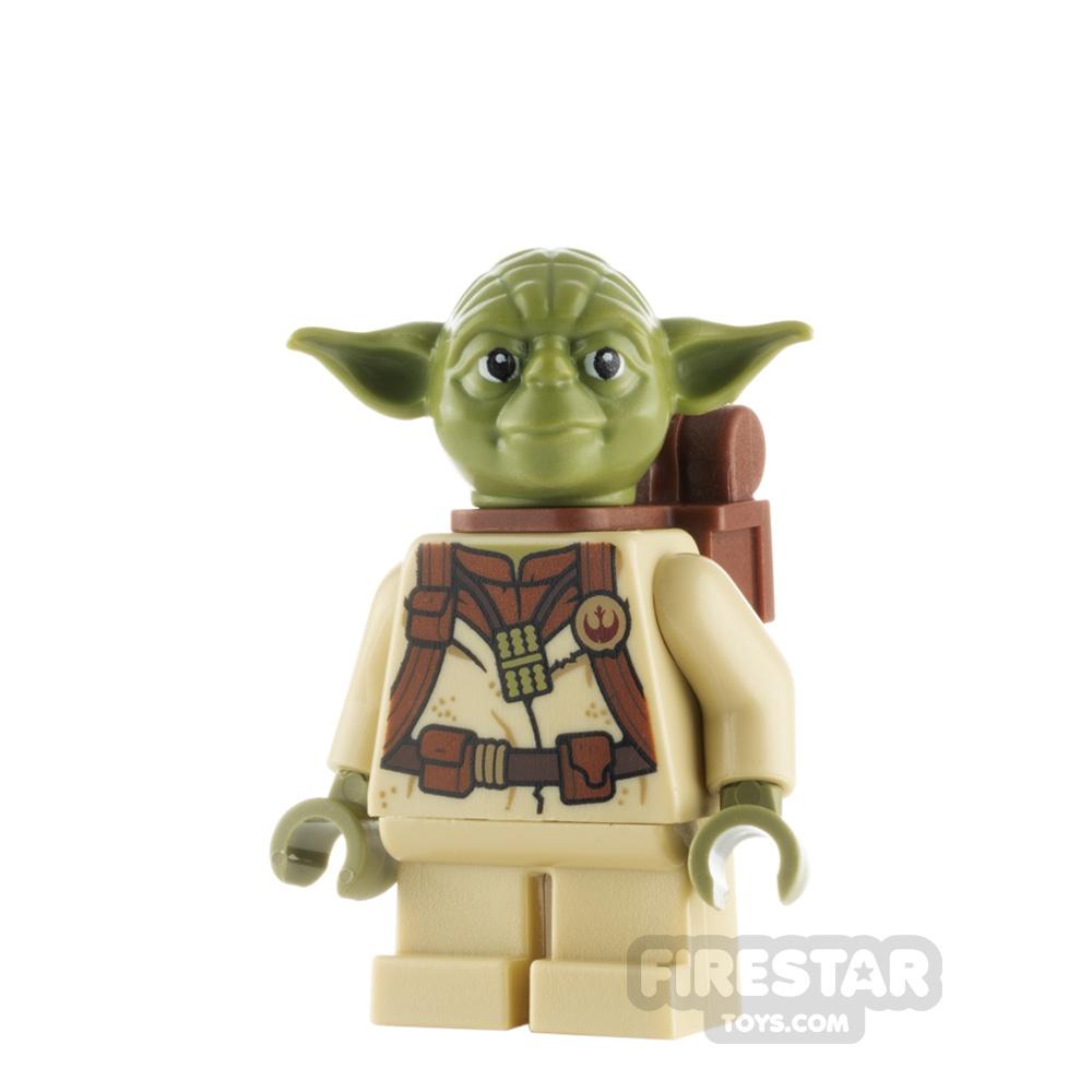 LEGO Star Wars Minifigure Yoda Backpack Pattern