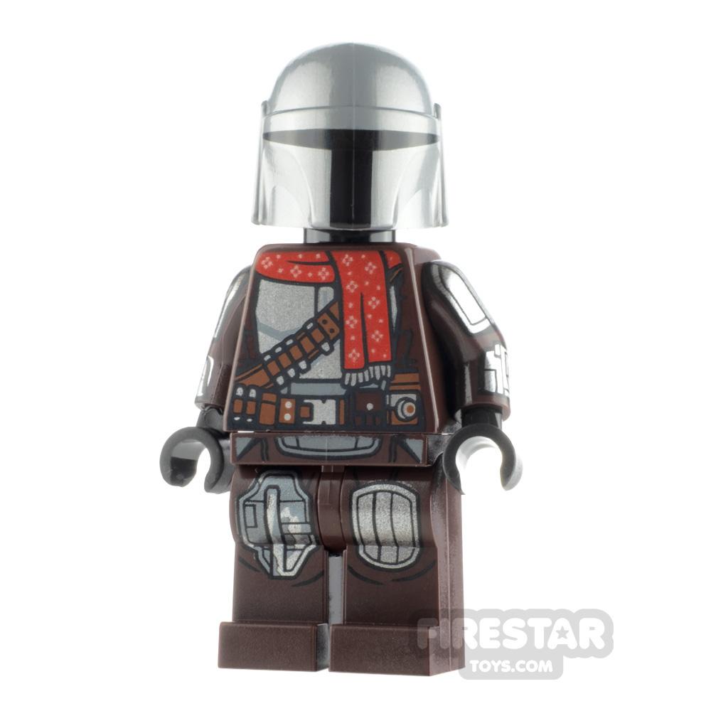 LEGO Star Wars Minifigure The Mandalorian Christmas Scarf