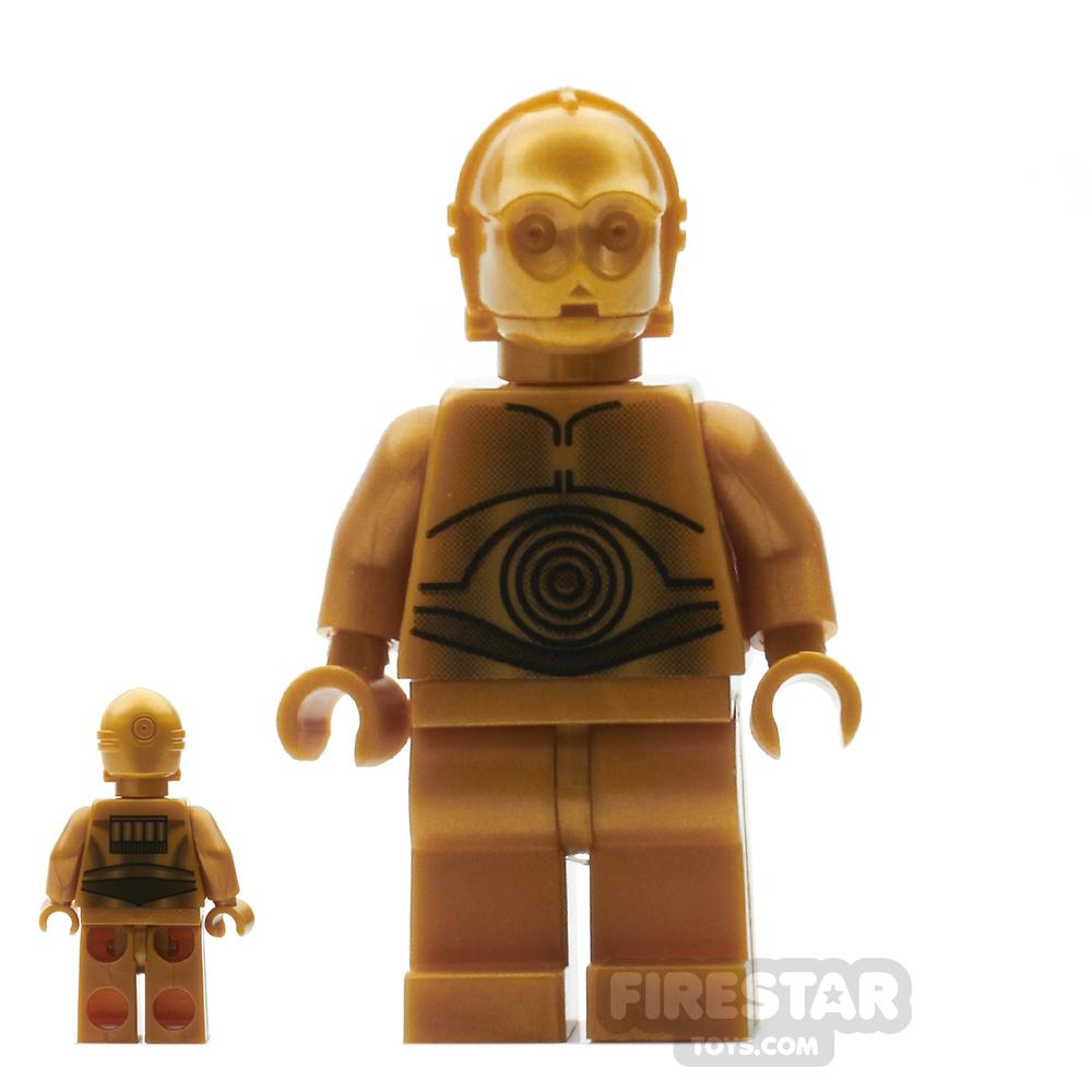 LEGO Star Wars Mini Figure - C-3PO Dark Gold