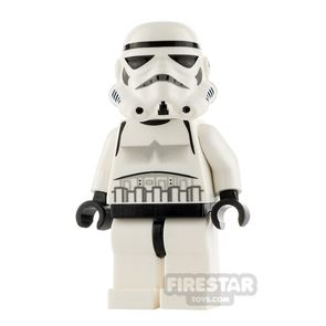 LEGO Star Wars Minifigure Stormtrooper Dotted Mouth