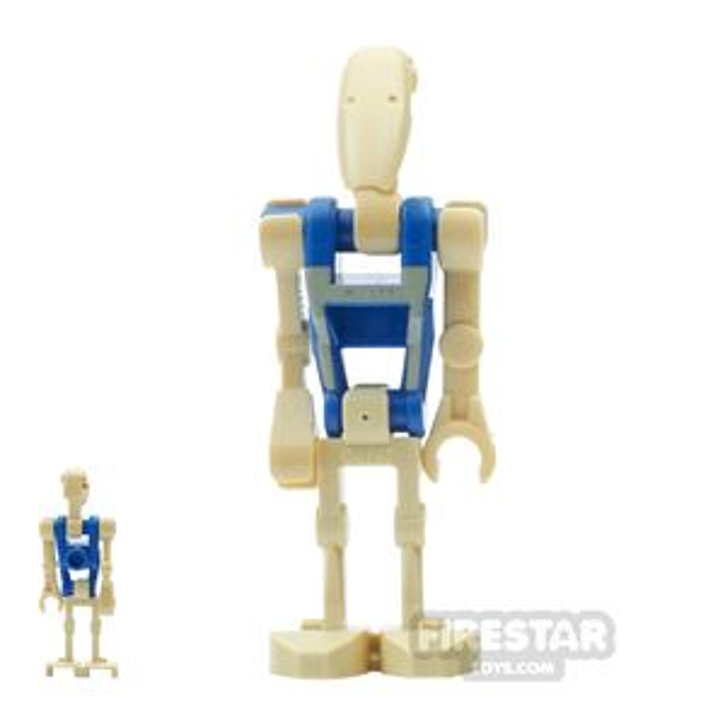 LEGO Star Wars Mini Figure - Battle Droid Pilot - Blue Torso