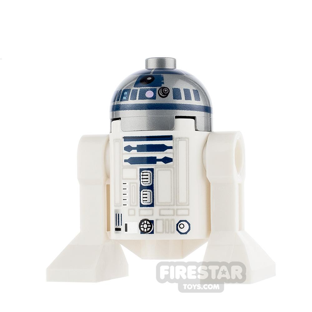 LEGO Star Wars Minifigure R2-D2 Silver and Dark Blue