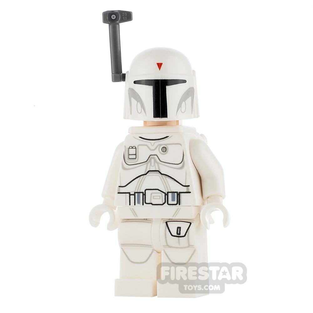 LEGO Star Wars Minifigure White Boba Fett