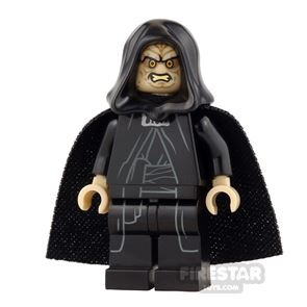 LEGO Star Wars Mini Figure - Emperor Palpatine - Soft Cape