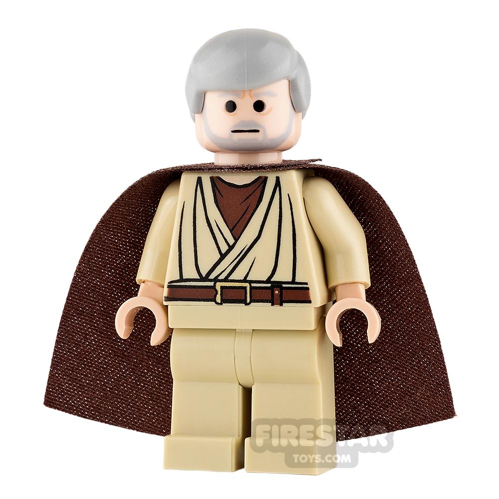 LEGO Star Wars Mini Figure - Obi-Wan Kenobi (Old) - Standard Cape