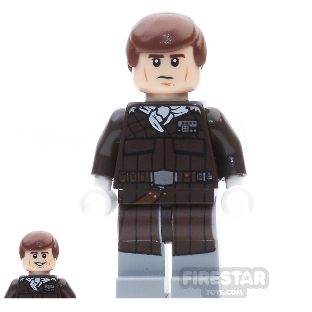 LEGO Star Wars Mini Figure -  Han Solo - Dark Brown Jacket