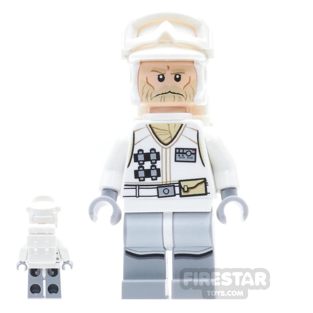 LEGO Star Wars Mini Figure -  Hoth Rebel Trooper - White Uniform 3