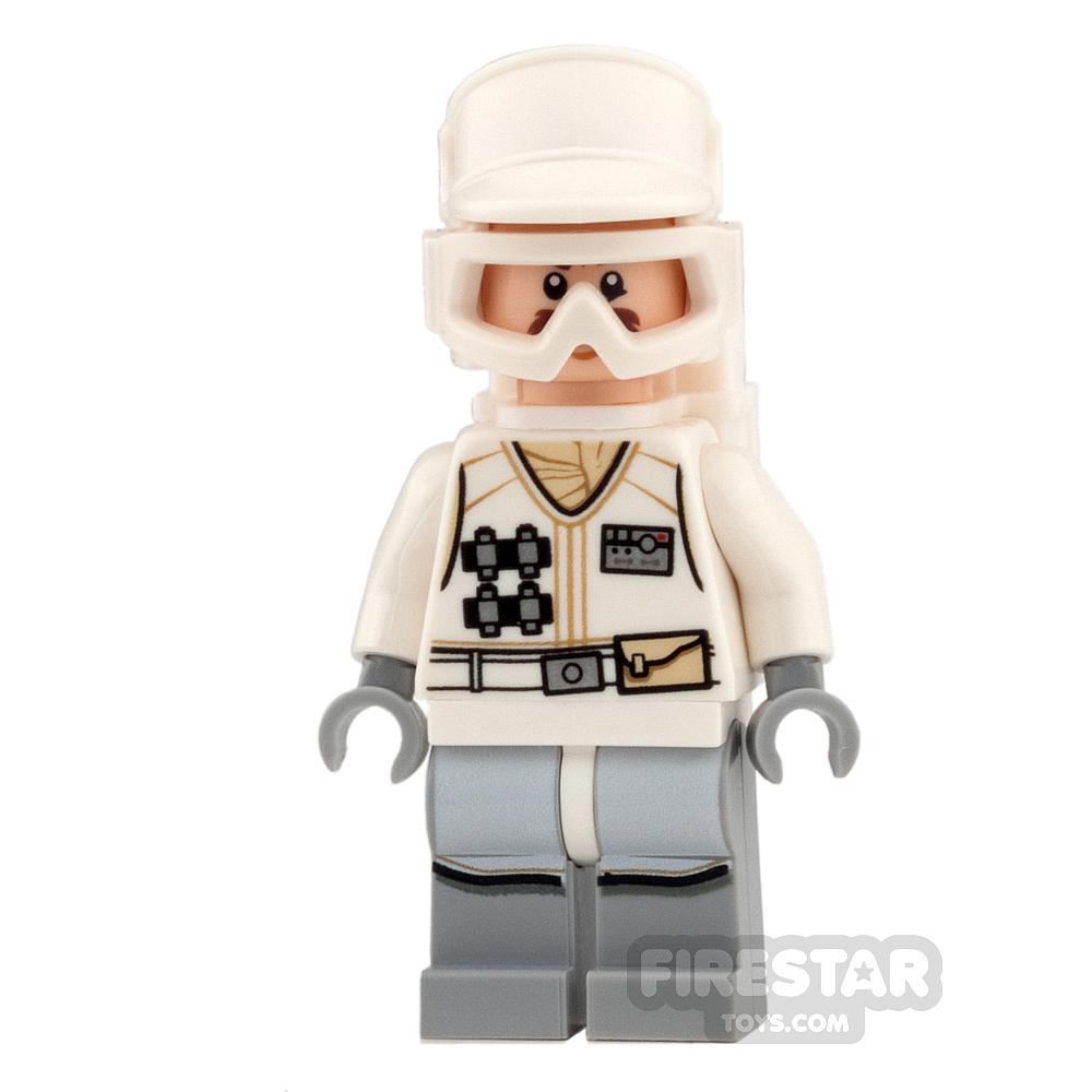 LEGO Star Wars Mini Figure -  Hoth Rebel Trooper - White Uniform 4