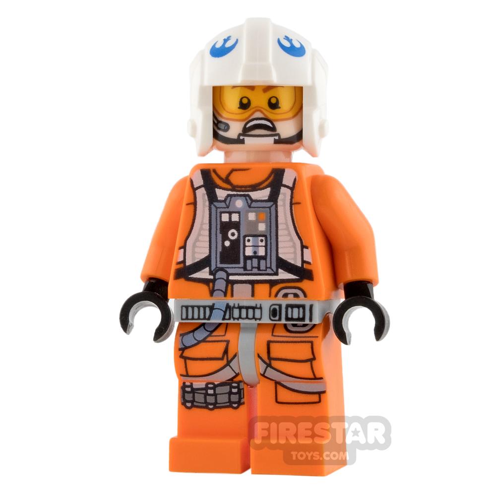 LEGO Star Wars Mini Figure - Rebel Pilot - Zin Evalon