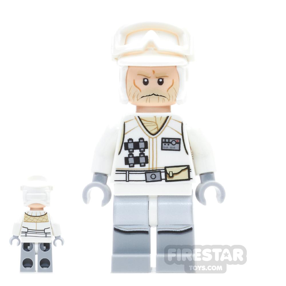 LEGO Star Wars Mini Figure - Hoth Rebel Trooper White Uniform 3