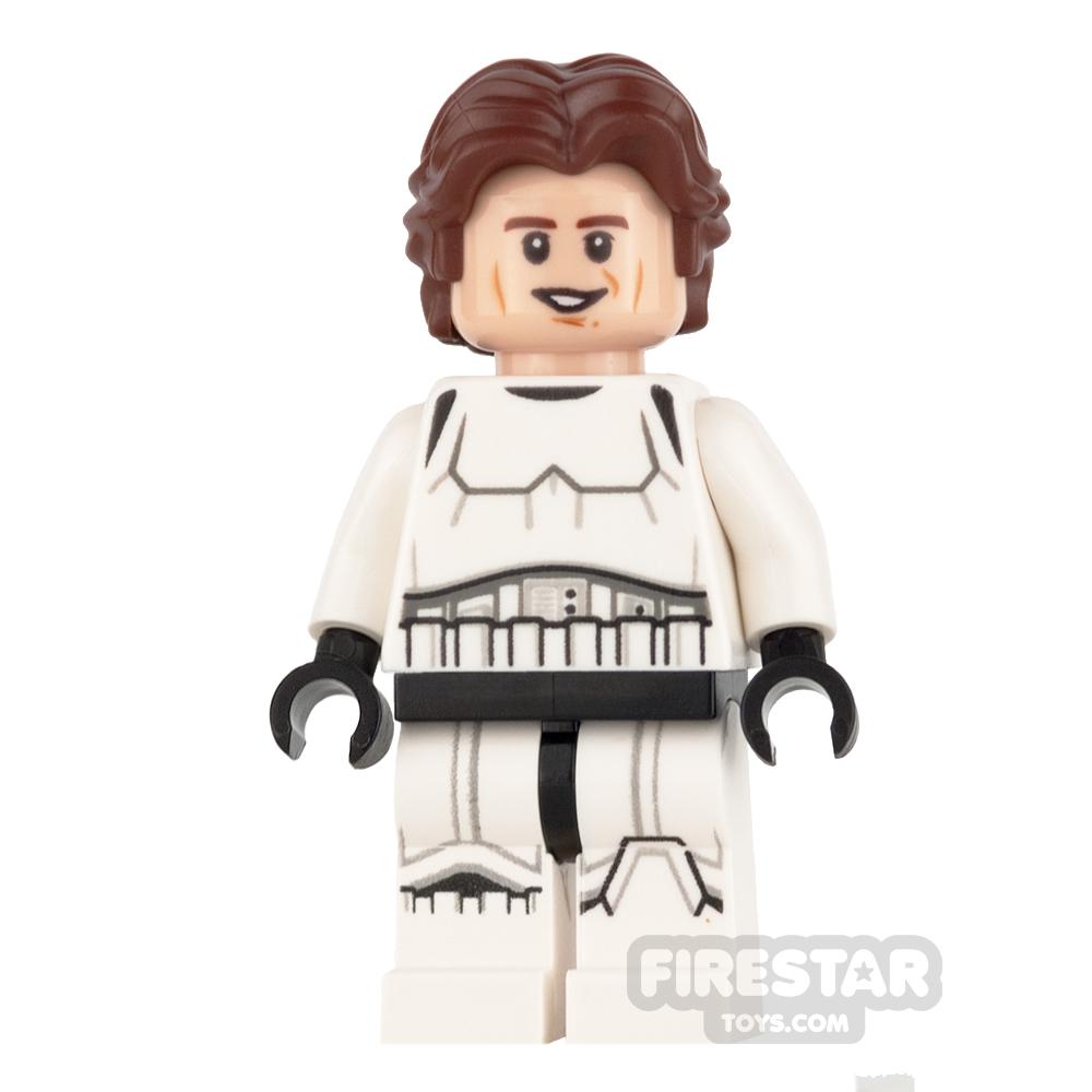 LEGO Star Wars Mini Figure -  Han Solo - Stormtrooper Outfit