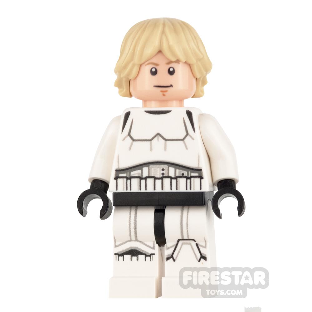 LEGO Star Wars Mini Figure -  Luke Skywalker - Stormtrooper Outfit