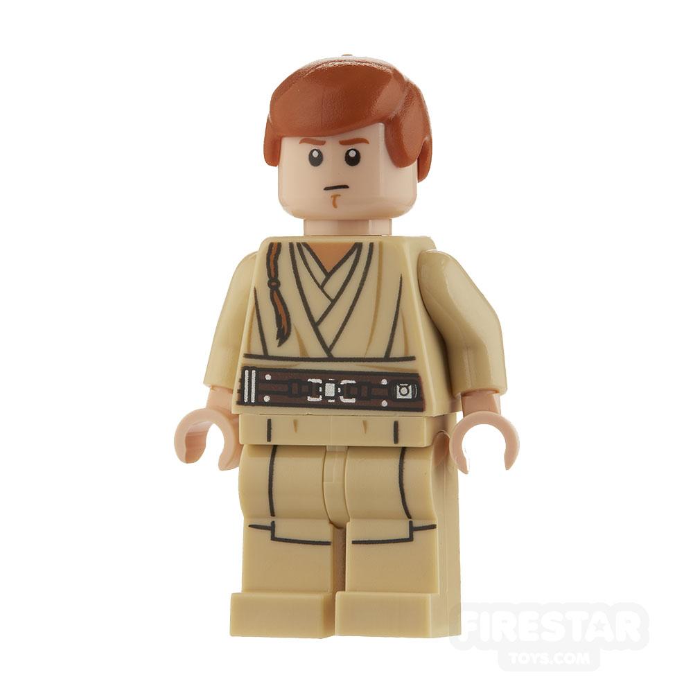 LEGO Star Wars Mini Figure - Obi-Wan Kenobi - Young, without Cape