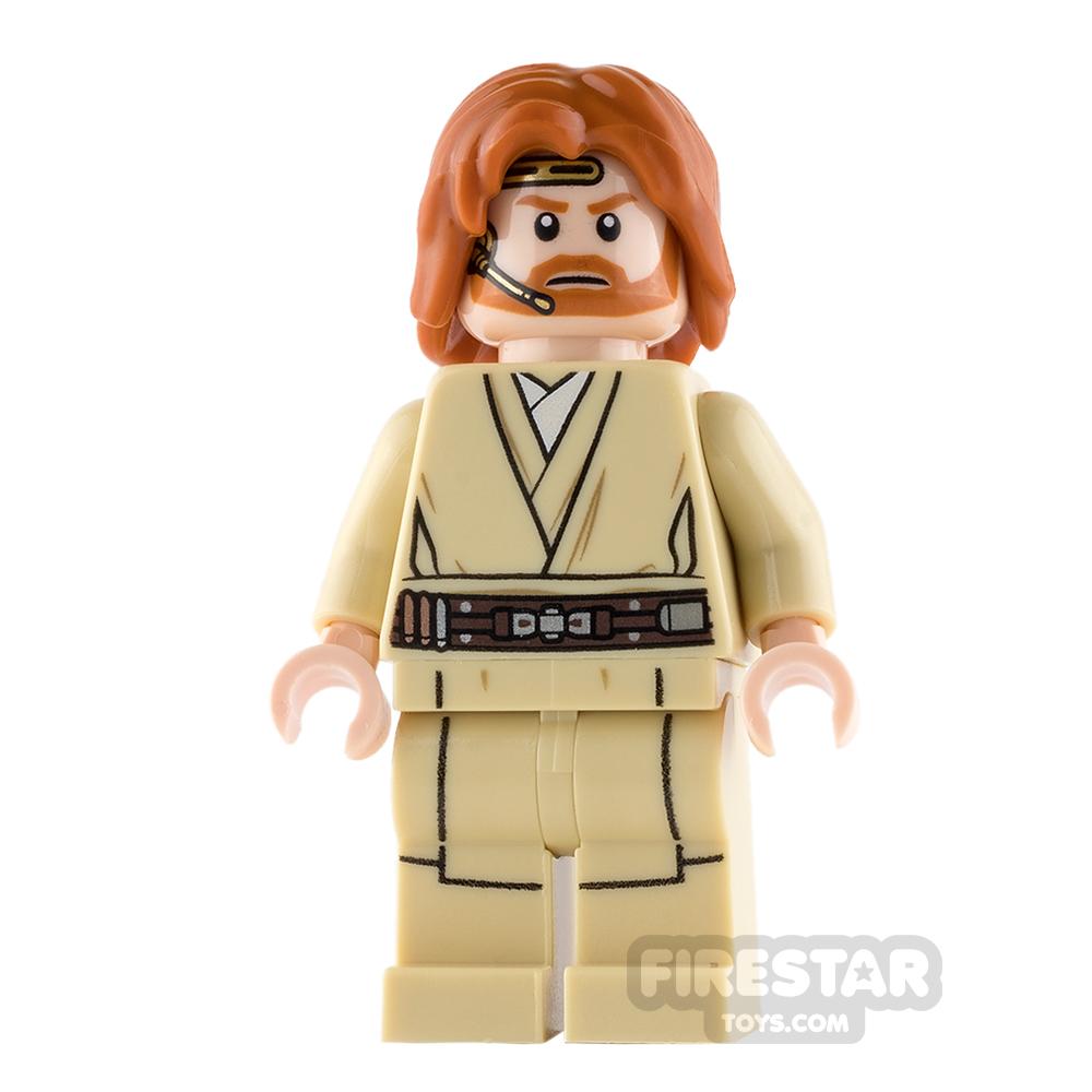 LEGO Star Wars Mini Figure - Obi-Wan Kenobi - Mid Length Tousled Hair