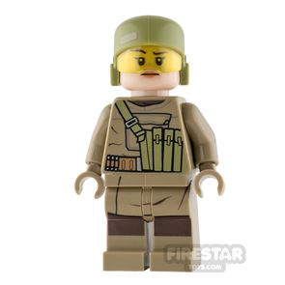 LEGO Star Wars Mini Figure - Resistance Trooper - Female