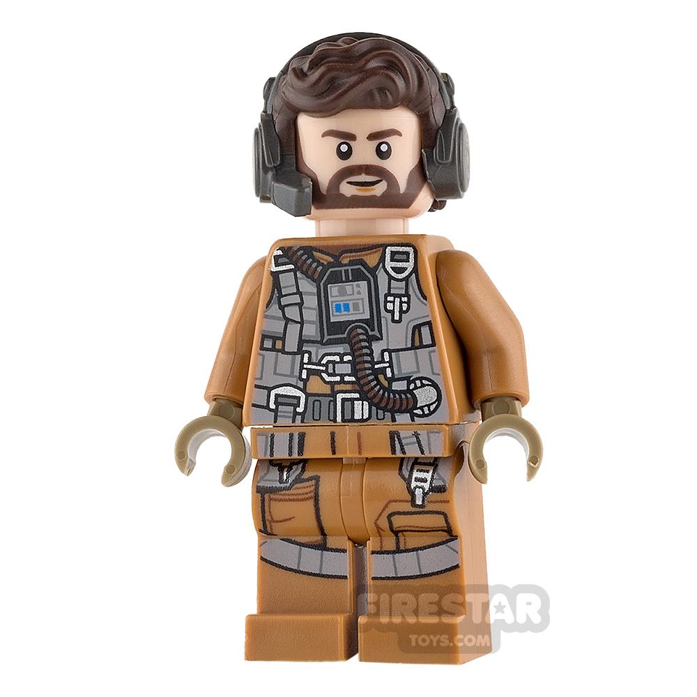 LEGO Star Wars Mini Figure - Resistance Speeder Pilot - Nodin Chavdri