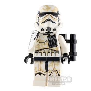 LEGO Star Wars Minifigure Sandtrooper Pauldron and Dirt Stains