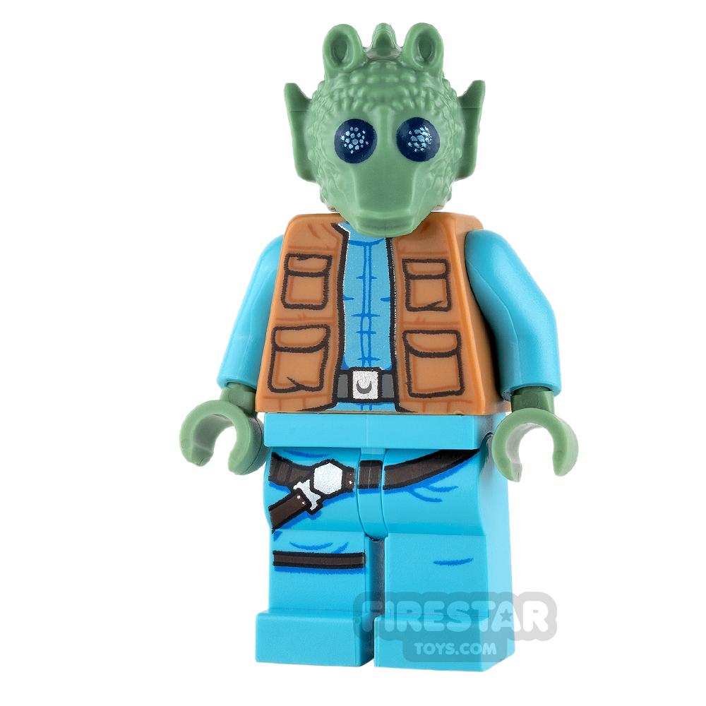 LEGO Star Wars Mini Figure - Greedo - Belt on Torso