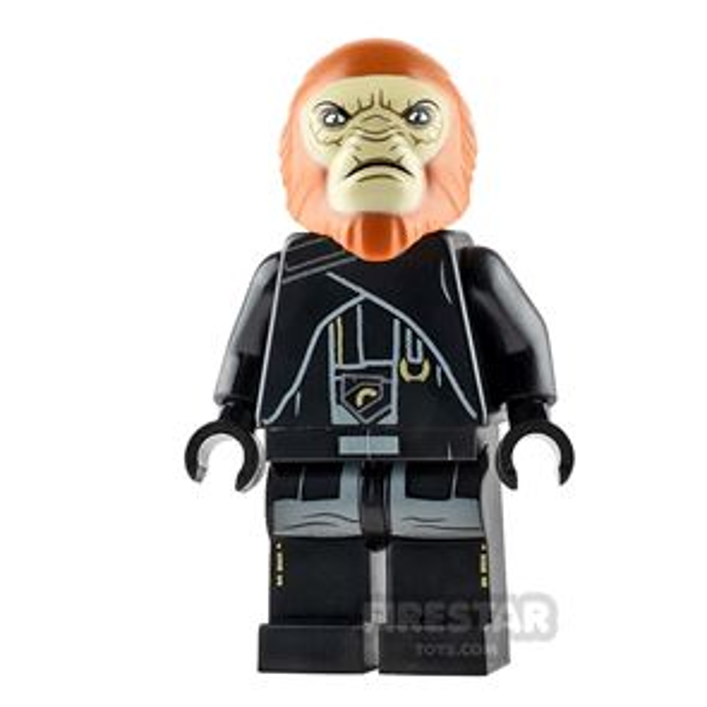 LEGO Star Wars Mini Figure - Dryden's Guard - Closed Mouth