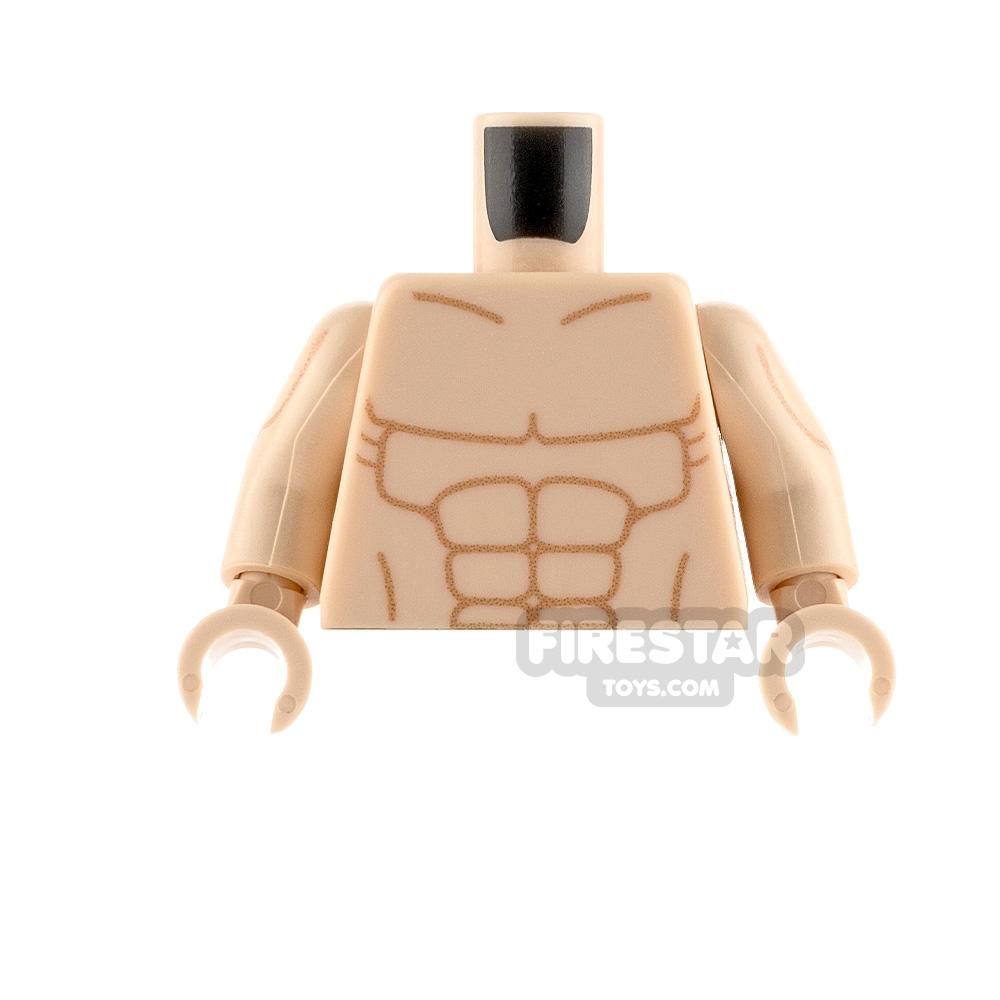 Custom Design Torso - Muscles - Light Flesh