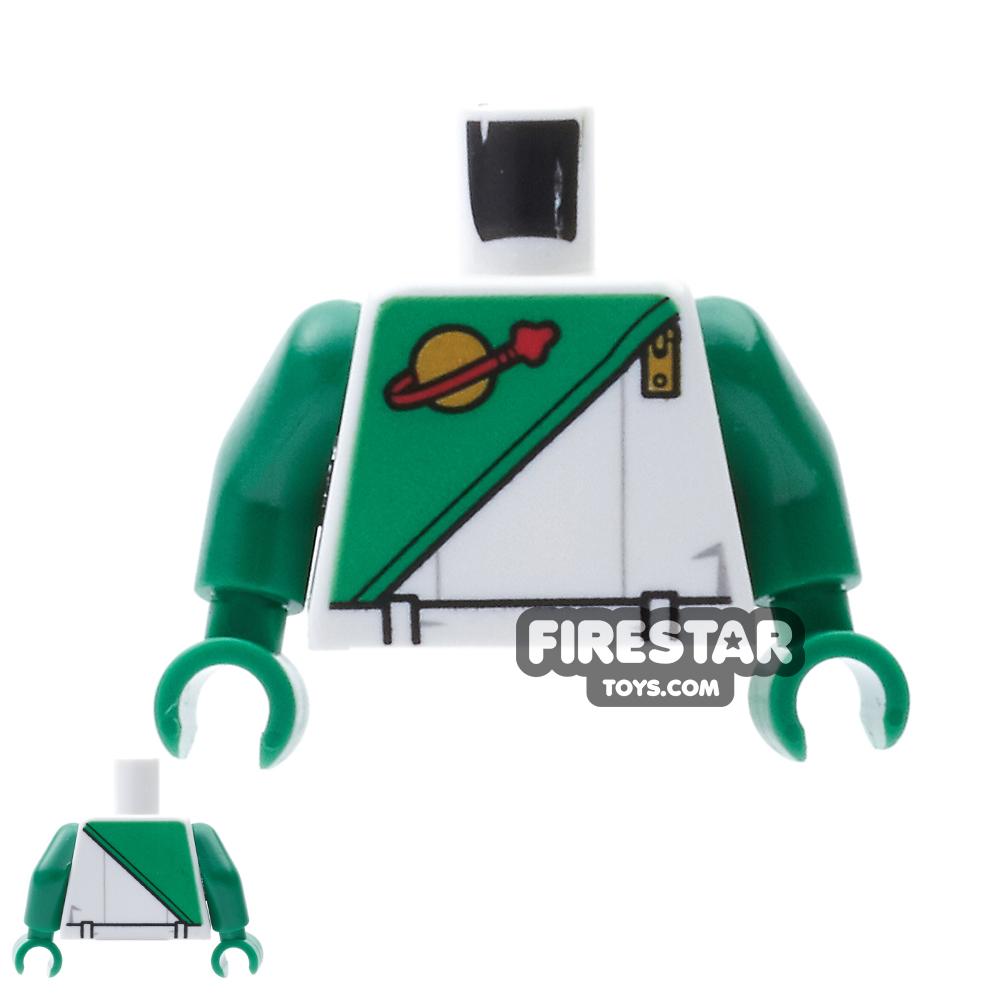 LEGO Mini Figure Torso - Space Futuron - Green