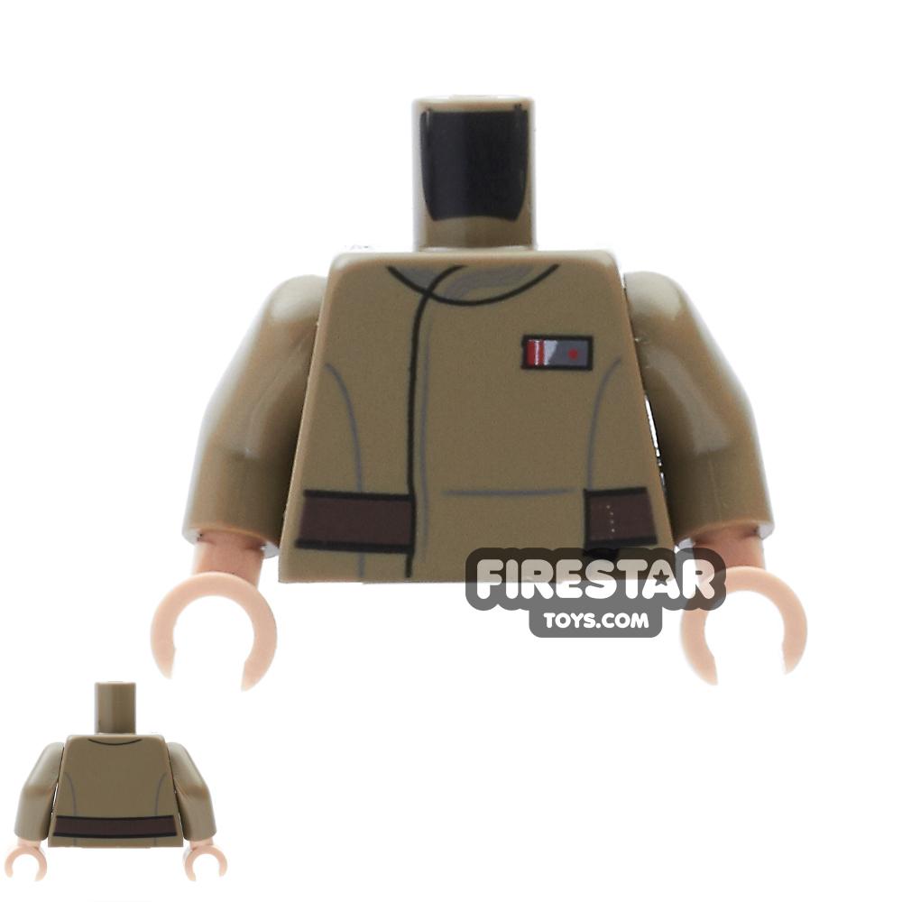 LEGO Mini Figure Torso - Resistance Officer Uniform
