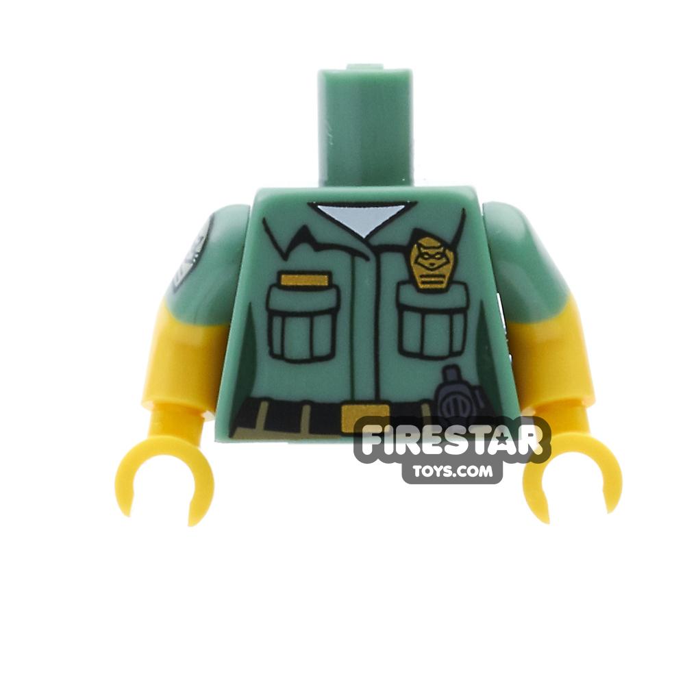 LEGO Minifigure Torso Animal Control Uniform