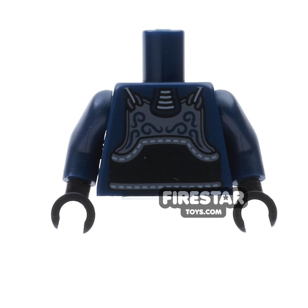 LEGO Mini Figure Torso - Kendo Fighter Armour