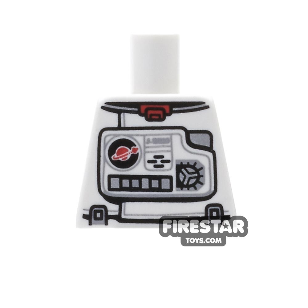 LEGO Mini Figure Torso - Astronaut Spacesuit - No Arms